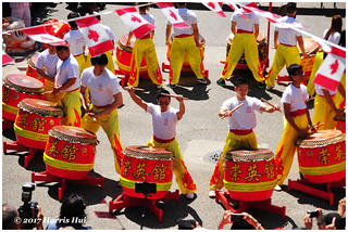Drum Roll For Canada 150 - Chinatown N18359e