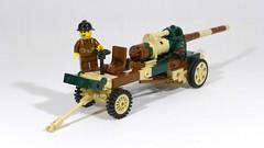 Canon de 145 L modèle 1916 St Chamond (main) (Rebla) Tags: rebla lego wwii ww2 world war 2 ii french vehicles canon de 145 l modèle 1916 st chamond