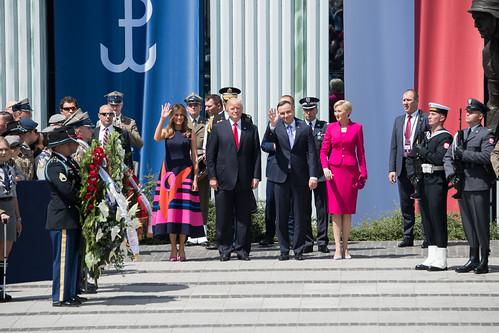 From flickr.com: President Trump's Trip to Poland {MID-141561}