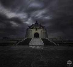 National Chiang Kai-Shek Memorial Hall (kenneth chin) Tags: verticalpanorama cksmemorialhall nikon d810 nikkor 1424f28g yahoo google city attraction taiwan taipei cloud