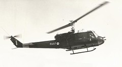 A2-720 RAAF Huey (Dulacca.trains) Tags: raaf airforce huey uh1b bell204 iroquois helicopter chopper 9sqn 9squadron williamtown aircraft australia australian aussie oz 1965