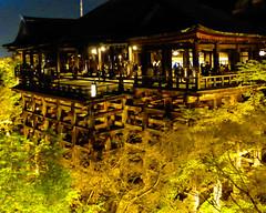 Kiyomizu-dera XXIII (Douguerreotype) Tags: japan kyoto night people architecture temple shrine buddhist