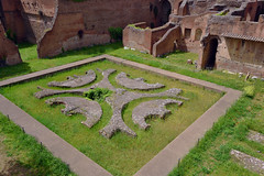 Courtyard garden of the Domus Augustana, Palatine Hill, Rome, Italy  -  (Selected by GETTY IMAGES) (DESPITE STRAIGHT LINES) Tags: nikon d7200 nikond7200 nikkor1024mm nikon1024mm getty gettyimages gettyimagesesp despitestraightlinesatgettyimages paulwilliams paulwilliamsatgettyimages rome roma romeitaly emperor palatinehill collispalatium palatinehillrome ortifarnesianisulpalatino cardinalalessandrofarnese domusaugustana domusaugustanapalatinehill domusaugustanarome palaceofdomitian palaceofdomitianrome courtyard palace ancientrome