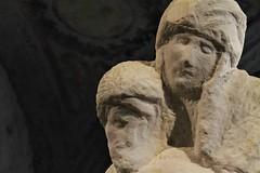 Pietà Rondanini (kiichan20) Tags: milan milano italy city castellosforzesco museo museum castello castle art arte scultura sculpture pietà pietàrondanini michelangelo detail dettaglio visi face faces