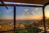 Beautiful view from a cafe / Սրճարանի մը գեղեցիկ տեսարանը (Seroujo) Tags: panorama beautiful golden cafe cityscape view mount hour armenia yerevan hdr masis ararat հայաստան երեւան արարատ երեվան մասիս լեռ