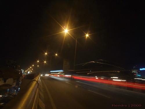 Depok flyover @ night