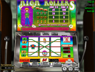 High Rollers slot game online review