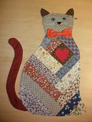 Esse eu fiz para as meninas que gostam de gatinhos !!!! (soniapatch) Tags: patchwork gatinhoempatchwork