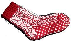 X & O Socks - 2 colour version