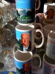 Tower of Biden (anne dunne) Tags: cup airport dulles iad unitedstates souvenir mug vicepresident joebiden