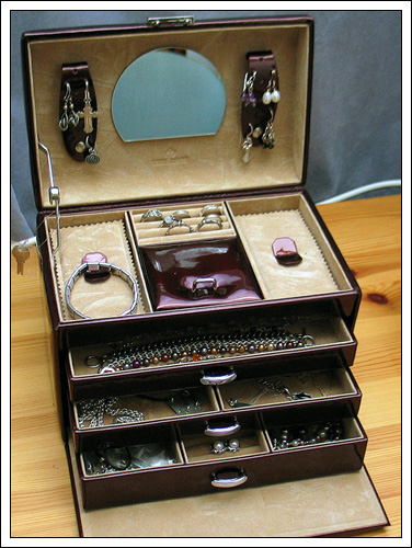 Windrose jewelry box