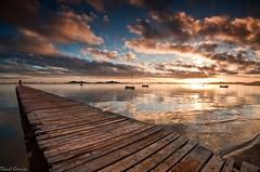 Hola 2010 (Popewan) Tags: sea sunrise mar amanecer lamanga pantalan losurrutias sigma1020 popewan