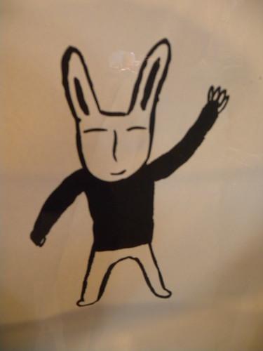 Rabbit in the Window