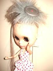 FLI - she's wearing a french twist