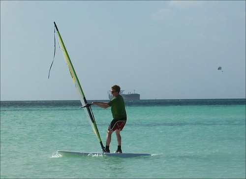 My windsurfing