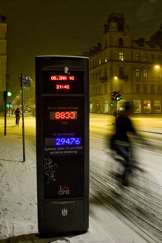Copenhagen Snow Counter