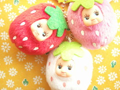 Kawaii Cute Strawberry Kewpie Keychain Plush Doll Mascot Japan (Kawaii Japan) Tags: pink red white cute fruits smile smiling japan shop shopping asian toy happy japanese store nice strawberry keychain doll soft brinquedo pretty phone little small adorable strawberries mini charm goods plush mascot collection lindo stuff kawaii fancy mobilephone plushie strap lovely cuteness goodies rare spielzeug jouet collectibles juguete  kewpie niedlich  supercute japanesetoy gentil rubberface atraente cellphonestrap superkawaii giocattolo grazioso japanesestore cawaii japaneseshop kawaiigoods fancyshop kawaiistuff kawaiishopping kawaiijapan kawaiistore kawaiizakka kawaiishop kawaiishopjapan kawaiijapanese kawaiijapanesestore