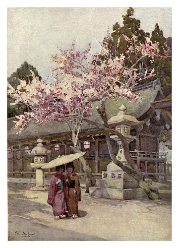 014- La estacion de la flor del ciruelo-The flowers and gardens of Japan (1908)-  Ella Du Cane