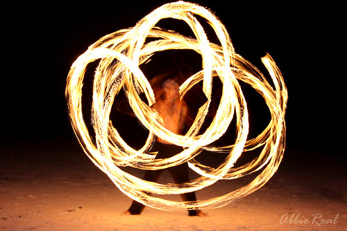 Fire Dancer in Boracay