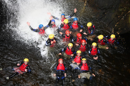 Canyoning is an awesome thing to do with friends