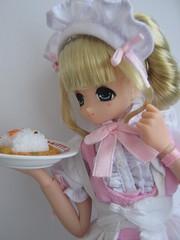 Maid Miu (kimmy manga) Tags: red anime cute ex water sketch punk doll princess drawing manga riding pure maid markers aika copic miu koron neemo azone pureneemo gensai