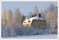 Frosty (Tuomas A. Lehtinen Photography) Tags: travel winter house snow cold building tree ice home nature field digital canon suomi finland landscape eos rebel frost 100mm tampere breathtaking xti 400d platinumheartaward breathtakinggoldaward breathtakinghalloffame tripleniceshot 4timesasnice 5timesasnice ginordicsept