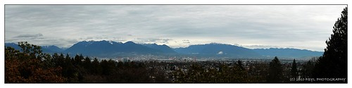 Panoramic View from Queen Elizabeth Park