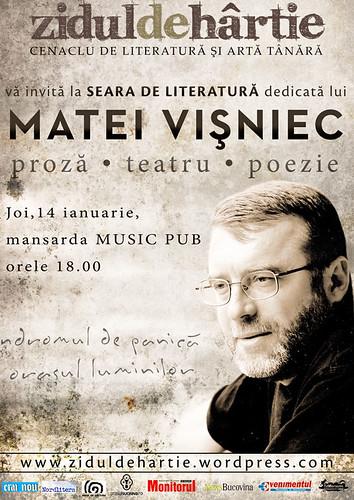 14 Ianuarie 2010 » Matei Vişniec