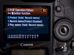 1D MarkIV C.FnIV Record-Protect Button