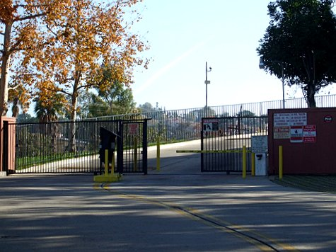 Gated community in Highland Park, Los Angeles (by: waltarrrr, creative commons license)