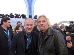 Jono & Richard Branson (AnjunaGallery) Tags: above two virgin beyond spaceship galactic unveil abss2