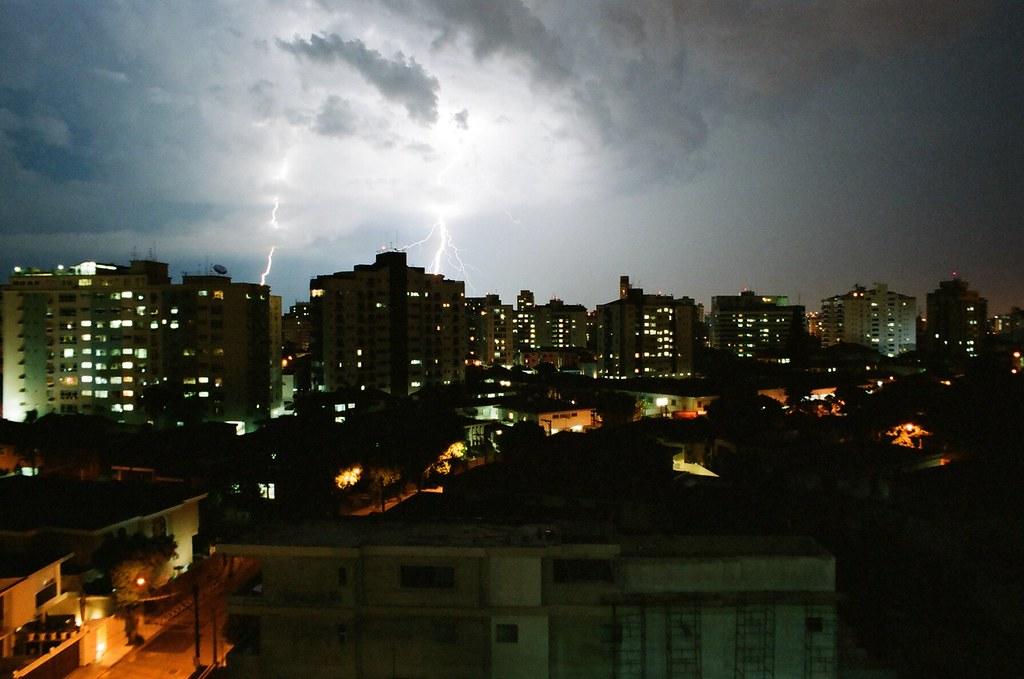 Thunderstorm - Film camera!