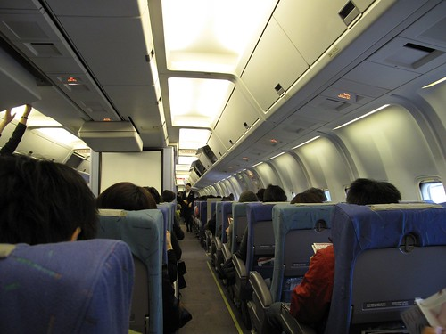 Boeing 767-300 on board