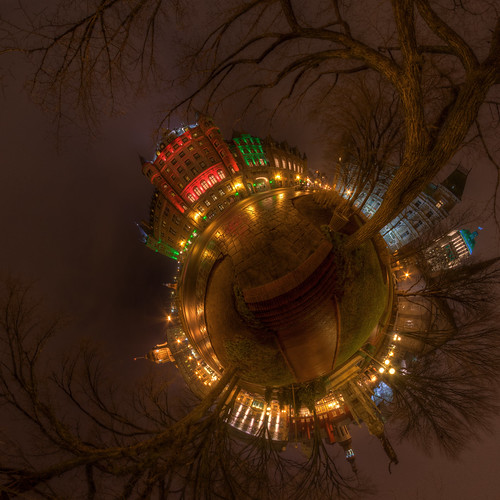 Christmas Frontenacoide - Chateau Frontenac, Old Quebec City
