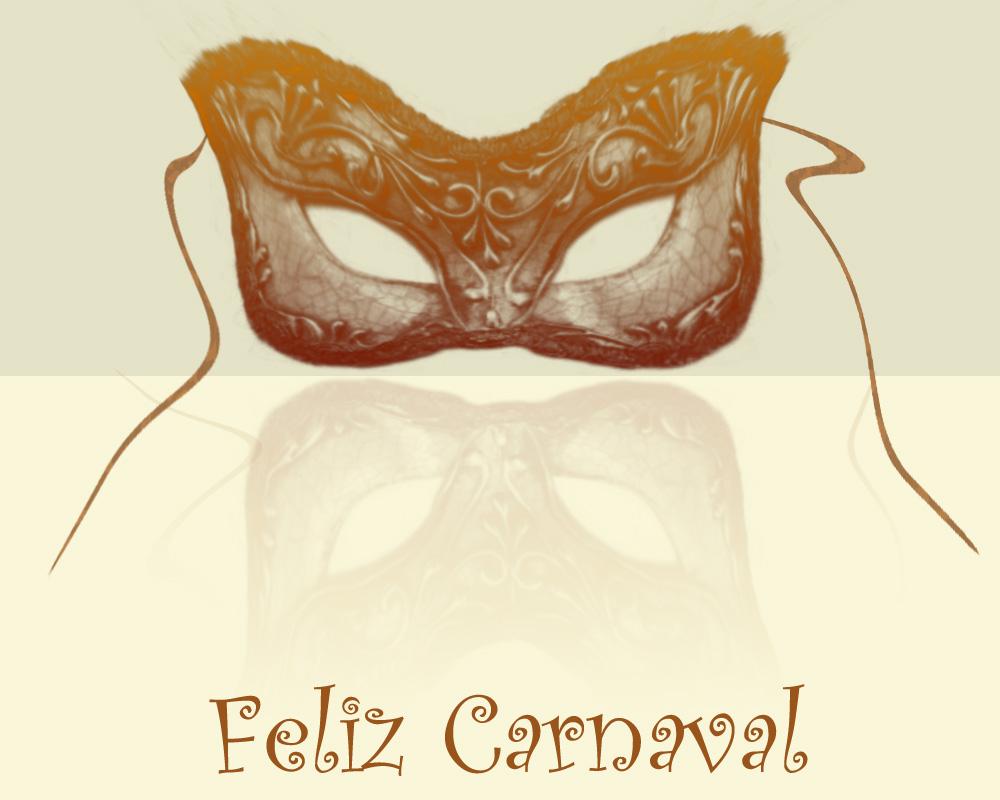 postal felicitacion de carnaval