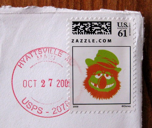 Dr. Teeth stamp