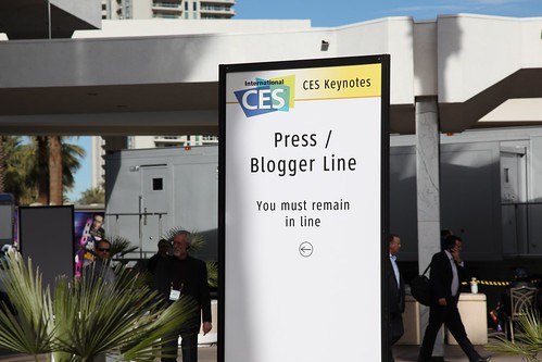 CES Keynotes Press / Blogger Line
