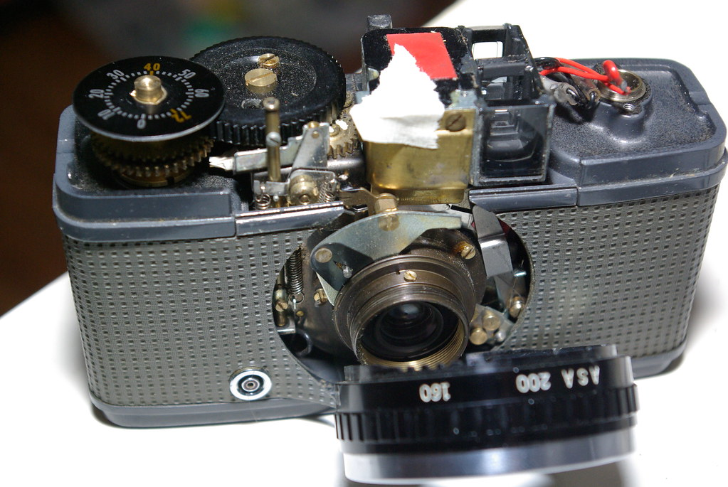 Olympus Pen EE s - Fixed!  :D