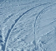 Carving tracks