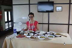 dining on a houseboat (supersnuppa) Tags: india alleppey