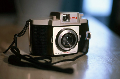 1960 Kodak Brownie Cresta 3 Camera