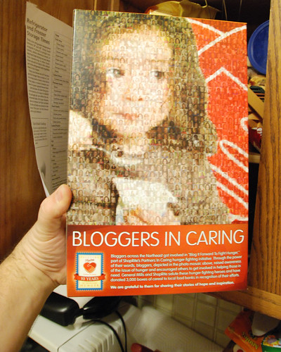 Bloggers In Caring - Honey Nut Cheerios Special Edition Box