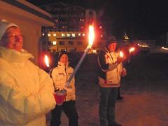 Gemütliche Fackelwanderung 22. Jänner (hotelvierjahreszeiten) Tags: austria zillertal hintertux