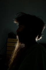 _DSC3559 (dogseat) Tags: selfportrait black me backlight dark beard sp sideburns backlit 365 drawers dogseat beardo muttonchops project365 365days dundrearies 187365