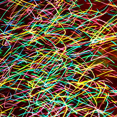 Incoherent (kevin dooley) Tags: christmas xmas light lightpainting abstract color tree broken canon painting vivid explore trail 28 24mm lighttrail interrupted interrupt lightstream f32 incoherent 40d multcolor lightinterrupted incoherency interruptedlight