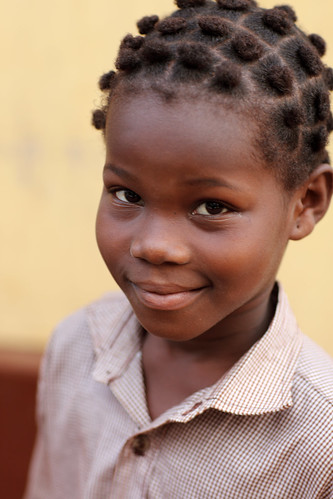 Girl in Lomé, Togo
