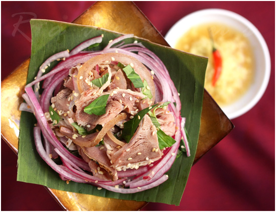 Be Thui Recipe Vietnamese Roast Veal