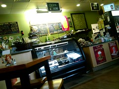 Order Counter at Virgin Olive