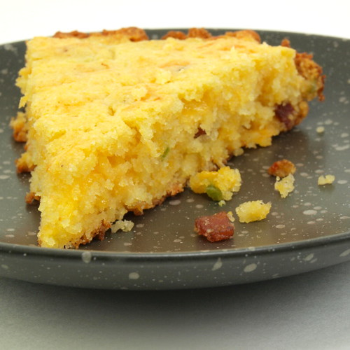 Jalapeno, Bacon and Cheddar Cornbread - Evil Shenanigans