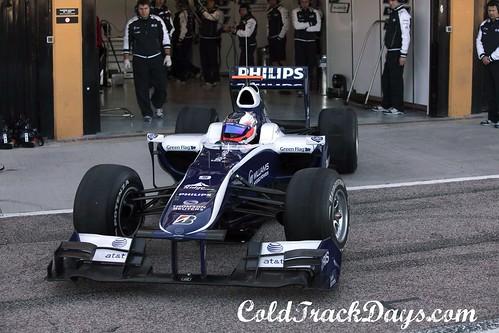 F1 TESTING @ VALENCIA //  MERCEDES, WILLIAMS & TORRO ROSSO BREAK COVER-3
